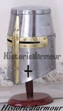 World Imports Antique Replica Medieval Knight Sugarloaf Armor Helmet CFR53