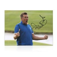 Ian Poulter Signed Photo: Ryder Cup 2018 | Autographed Golf Memorabilia