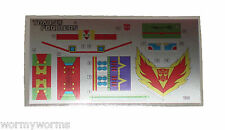 G1 Tracks Complete Sticker Decal Sheet