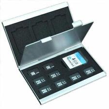 Metal Aluminum Micro SD TF MMC Memory Card Storage Box Protecter Case Holder**