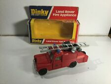 Dinky 282 Land Rover Fire Appliance Fire Truck Boxed