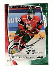 2012 Nathan Mackinnon Halifax Moosehead Autograph Auto Rookie Rare