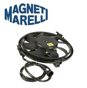For Audi A6 Allroad S4 Auxiliary Cooling Fan Assembly Magneti Marelli 4Z7959455