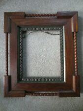 Vintage Wooden Carved Frame / 16 ¼ x 14 ¼ / Ornate / Unique / Antique