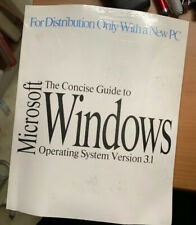 Microsoft Windows Operating System Version 3.1 - Collectors Item Brand New