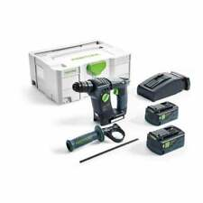Festool BHC18Li 5,2 Plus 18 V SDS Perceuse Marteau perforateur sans fil Set Syst...