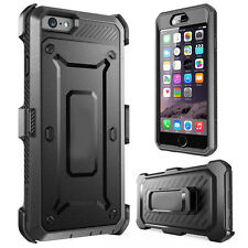 iPhone 8 Case, Moona Full Armor Protective Shockproof Case + Rotating Belt Clip