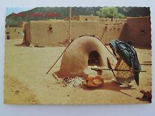New ListingVintage Postcard Taos Pueblo New Mexico Dwelling Igloo Native Americana A3117