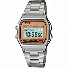 Casio A158WEA-9, Digital Watch, Chronograph, Alarm, Day/Date, 7 Year Battery