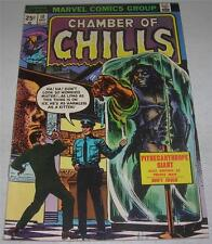 CHAMBER OF CHILLS #10 (Marvel Comics 1974) Classic horror reprints (FN/VF)