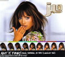 JENNIFER LOPEZ - Ain't It Funny (Remix) (UK 4 Tk Enh CD Single)