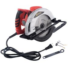 """New 10Amp 7-1/4"""" Bevel Adjustable Electric Circular Saw Working Power Tools"""