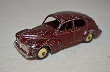 Dinky Toys 24R Peugeot 203 in maroon very difficult to find good condition