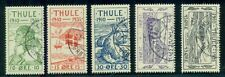 GREENLAND THULE (T1-5) Complete 1935 set, used