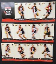 2013 Select Champions AFL Football Cards Team Set - St Kilda