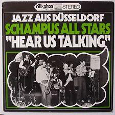 SCHAMPUS ALL STARS: Hear Us Talking SCARCE PRIVATE 1978 JAZZ vinyl LP