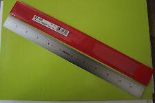 """Mitutoyo - 12""""/300 mm Amplia Regla de acero rígidos (nuevo) 182-125"""