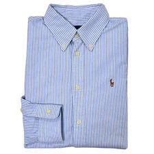 Polo Ralph Lauren Shirt Womens Oxford Button Down Classic Fit Long Sleeve New