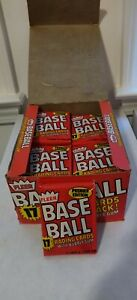 ONE Unopened Fleer 1981 Baseball Wax Pack, From My Personal Collection
