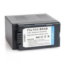 Hi-Capacity Battery for Panasonic CGA-D54 AG-DVX102B CGR-D120 AG-DVC62 AG-DV1DC