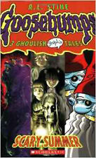 Scary Summer: 3 Ghoulish Tales (Goosebumps Graphix), New, Stine, R L Book