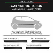 Modanature Laterali Bumper Paracolpi per Volkswagen Up 3P. 2011 con Biadesivo 3M