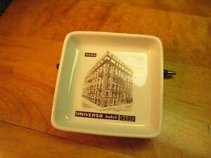 VTG Richard Ginori tip, change, ash tray, trinket tray MCM Universo Hotel Rome I