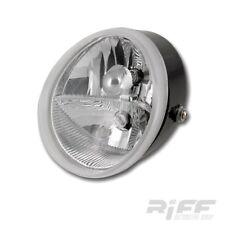 Scheinwerfer Harley V Rod Style Custom Bike Naked Fighter Lampe Head Light clear