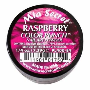 Mia Secret Acrylic Nail Powder 6 Color Punch Collection - Pick Your Shade