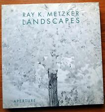 SIGNED - RAY K METZKER - LANDSCAPES - 2000 1ST EDITION & 1ST PRINTING - FINE