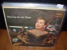 LOLA BELTRAN mexico sings with ( world music )