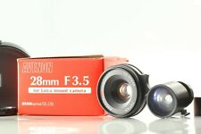 【EXC+++ w/ Case + Finder】 Avenon L 28mm f/3.5 for Leica Screw Mount Japan