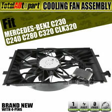 Radiator Cooling Fan Assembly for Mercedes-Benz C-Class C230 C240 C280 C320 C350