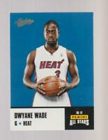 2010-11 Panini Absolute Rack Packs #2 Dwyane Wade card, Miami Heat
