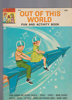 Out of This World Fun & Activity Book Space Cover Tony Tallarcio 1964