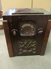 More details for vintage mcmichael duplex four bakelite / art deco / retro / valve radio