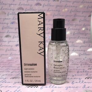 Mary Kay TimeWise Night Solution. New In Box. Hard To Find !!
