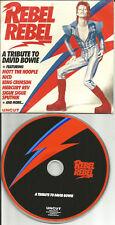 DAVID BOWIE trx PROMO CD w/ KING CRIMSON Nico MERCURY REV La Guns Sigue Sputnik