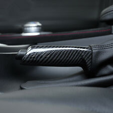 Carbon Fiber Central Handbrake Grips Cover For BMW 3 series E90 F30 F34 F80 E46
