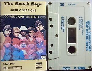 The Beach Boys – Good Vibrations. Cassette 1970 Capitol TC-AX-1103 Rock Pop