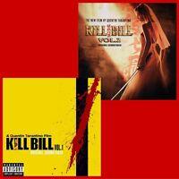Kill Bill (Quentin Tarantino) - Volume 1 & 2 - Album Bundle - 2 x Vinyl LP *NEW*