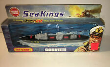 Rare Matchbox Lesney Superfast 1975 Sea Kings K-302 Corvette Nrfb Unpunched Ship