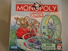 Monopoly Junior Board Game Parker Brothers Jr Kids Complete Age 5-8 yrs 2005