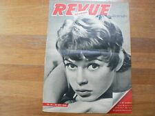 BB BRIGITTE BARDOT ORIGINAL COVER  OCTOBER 1955 DUTCH MAGAZINE BIG SIZE