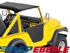 Jeep CJ5 Halbtüren-Set Black Crush