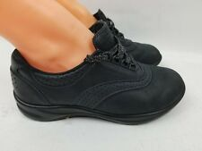 SAS Be Happy Walk Easy Women's Black Casual Leather Shoes SZ  US 6.5M