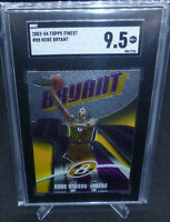 2003-04 Topps Finest Kobe Bryant Card #88 Graded SGC Mint+ 9.5 LAKERS