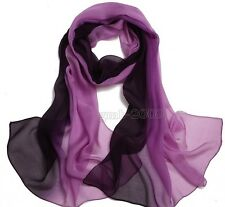 Women's New Fashion Pretty Long Soft Chiffon Scarf Wrap Shawl Stole Scarves