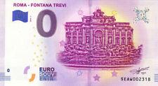 ITALIE Roma, Fontana Trevi, 2019, Billet 0 € Souvenir