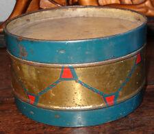 boite tôle lithographiée trompe l'oeil tambour toffees donat Dupont Lille